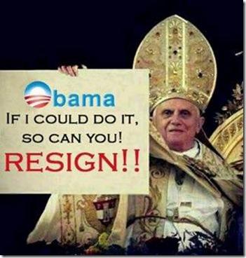 Obama resign